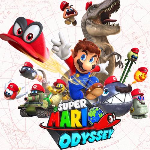 Super Mario Odyssey Game of the Year