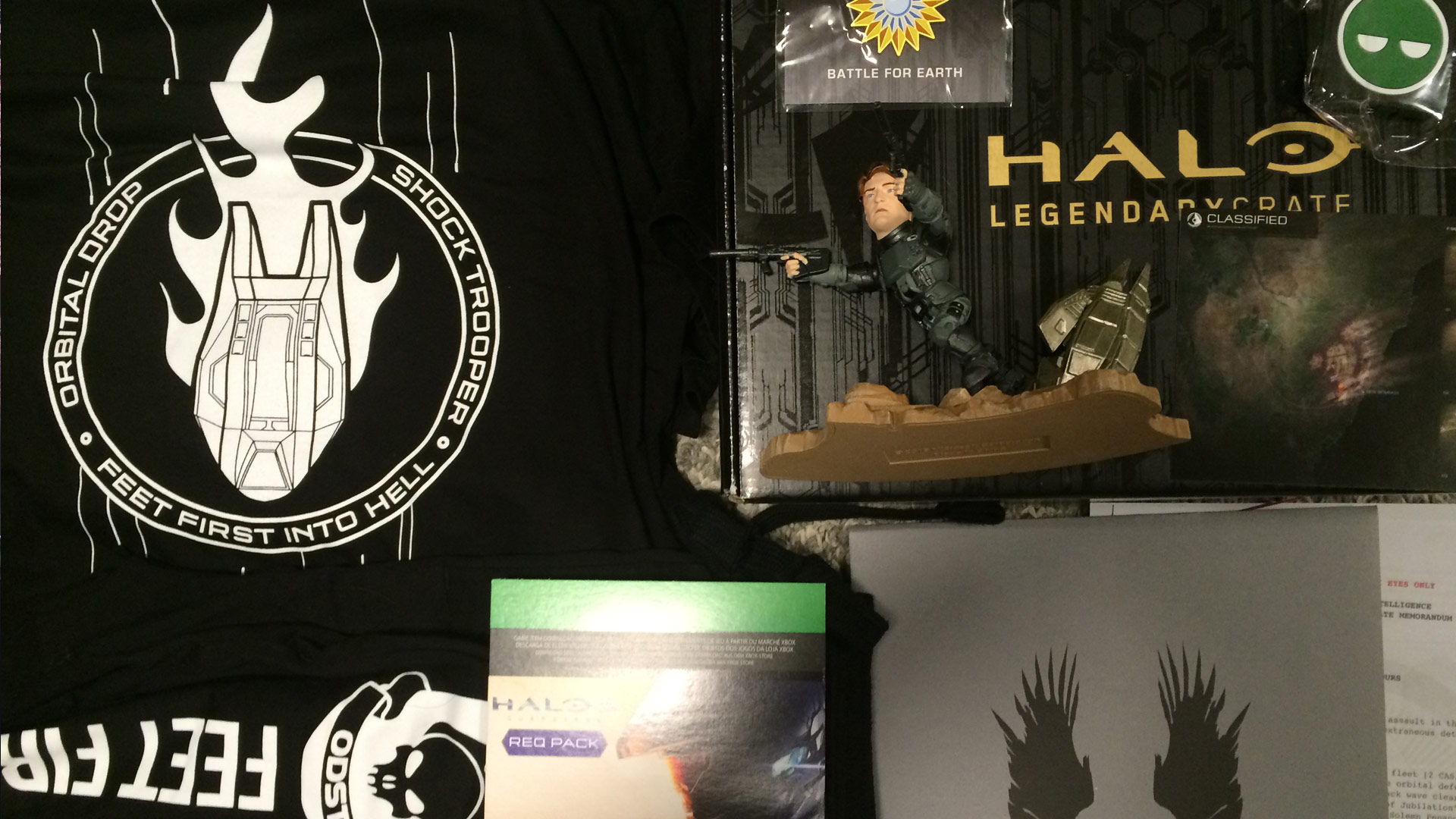 Halo Legendary Loot Crate: ODST Unboxing Review