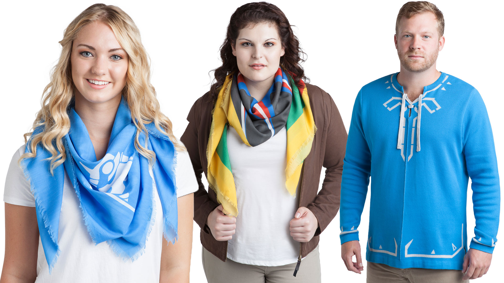 ThinkGeek: Zelda Breath of the Wild Collection Clothing