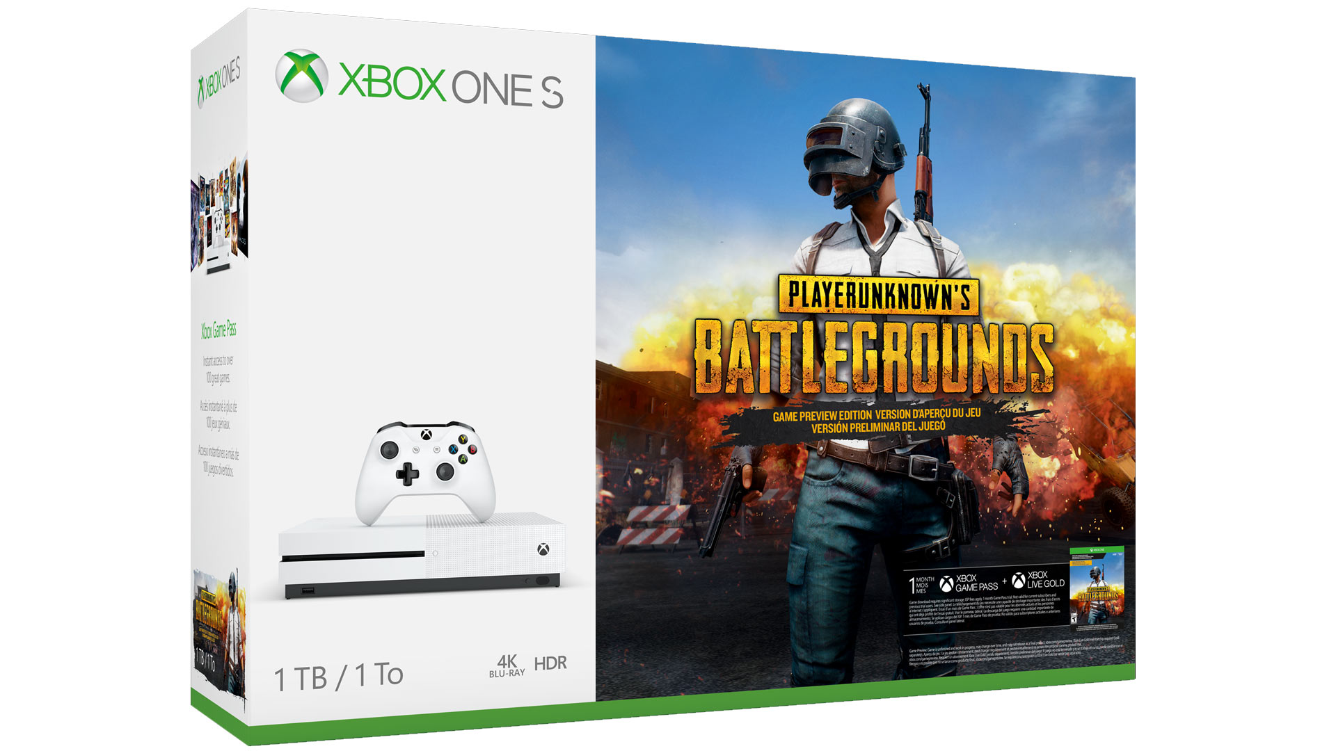 PUBG Xbox One Console Bundle