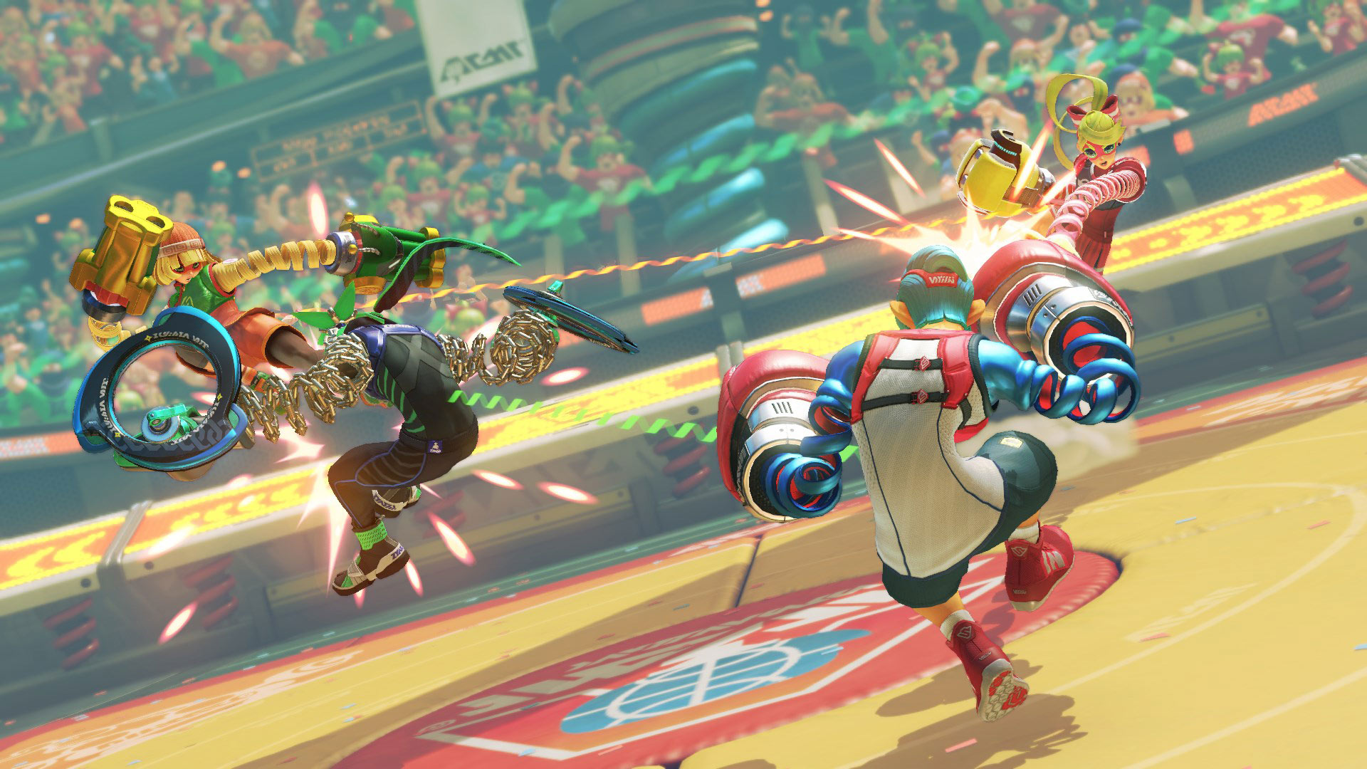 Arms Review Screenshot