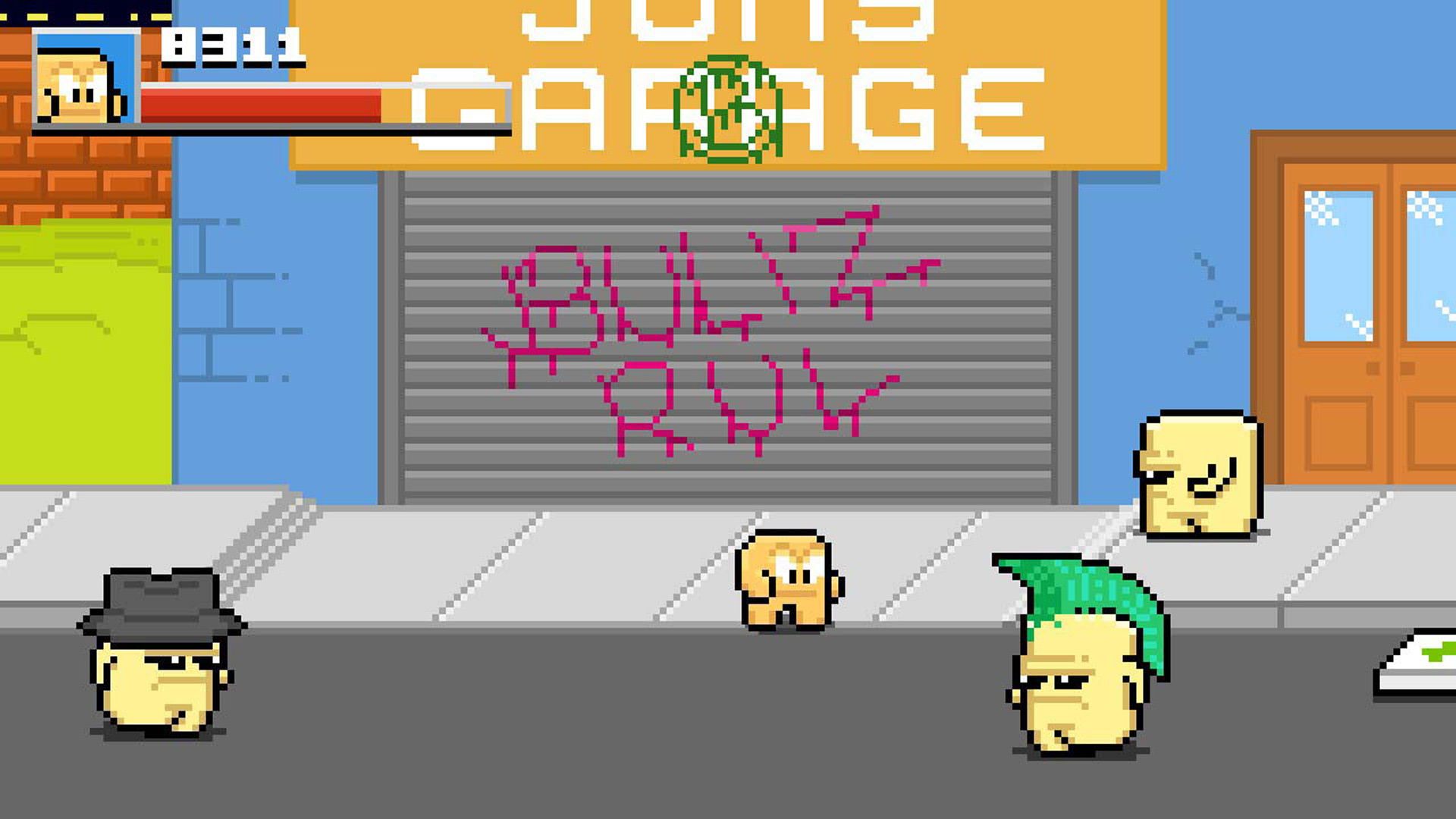 Squareboy vs Bullies: Arena Edition Nintendo Switch Screenshot