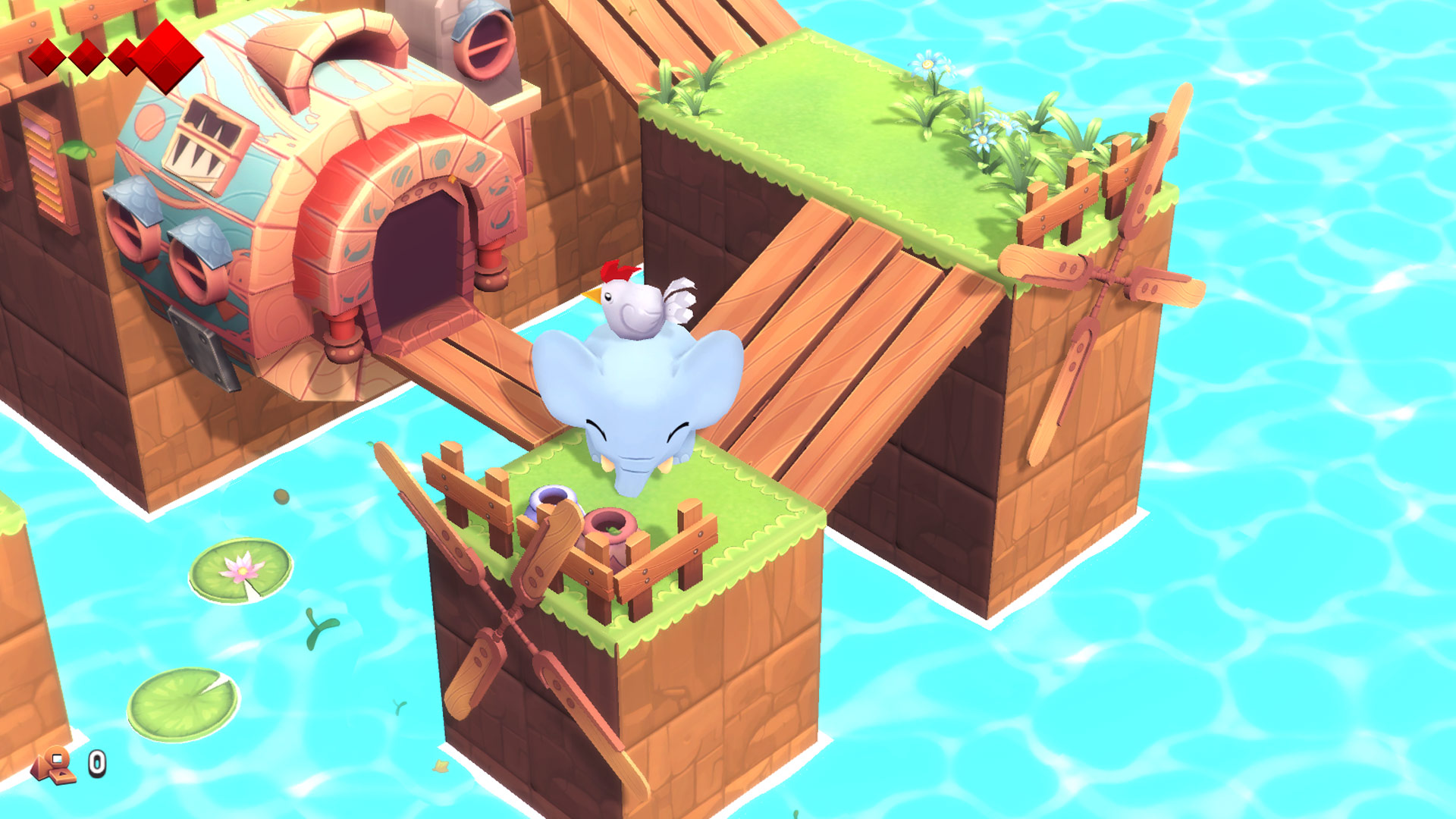 Yono and the Celestial Elephants Nintendo Switch Screenshot