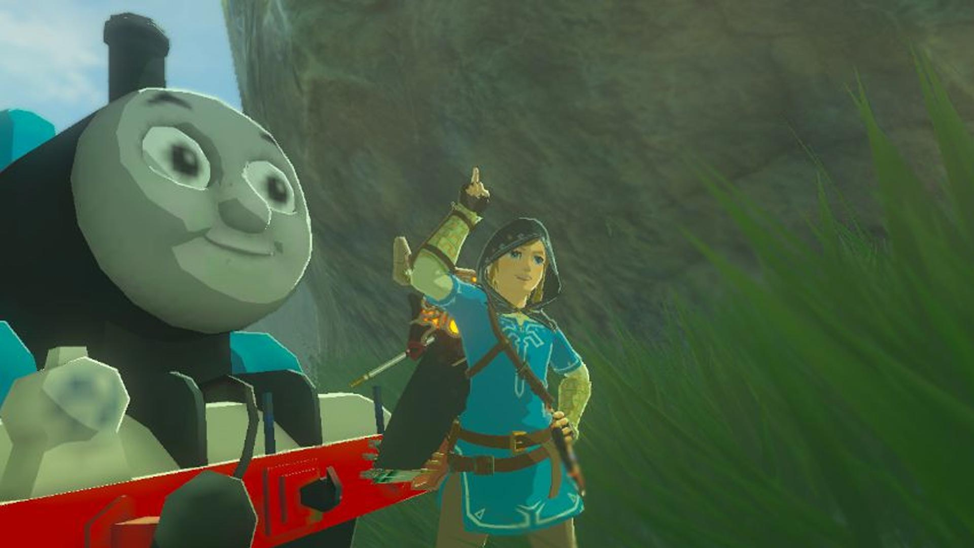 The Legend of Zelda: Breath of the Wild Thomas the Tank Engine Mod