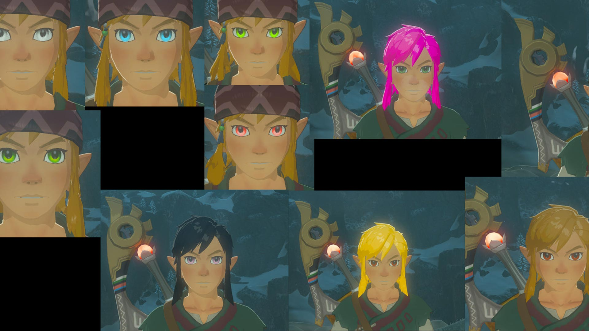 The Legend of Zelda: Breath of the Wild Build a Link Mod