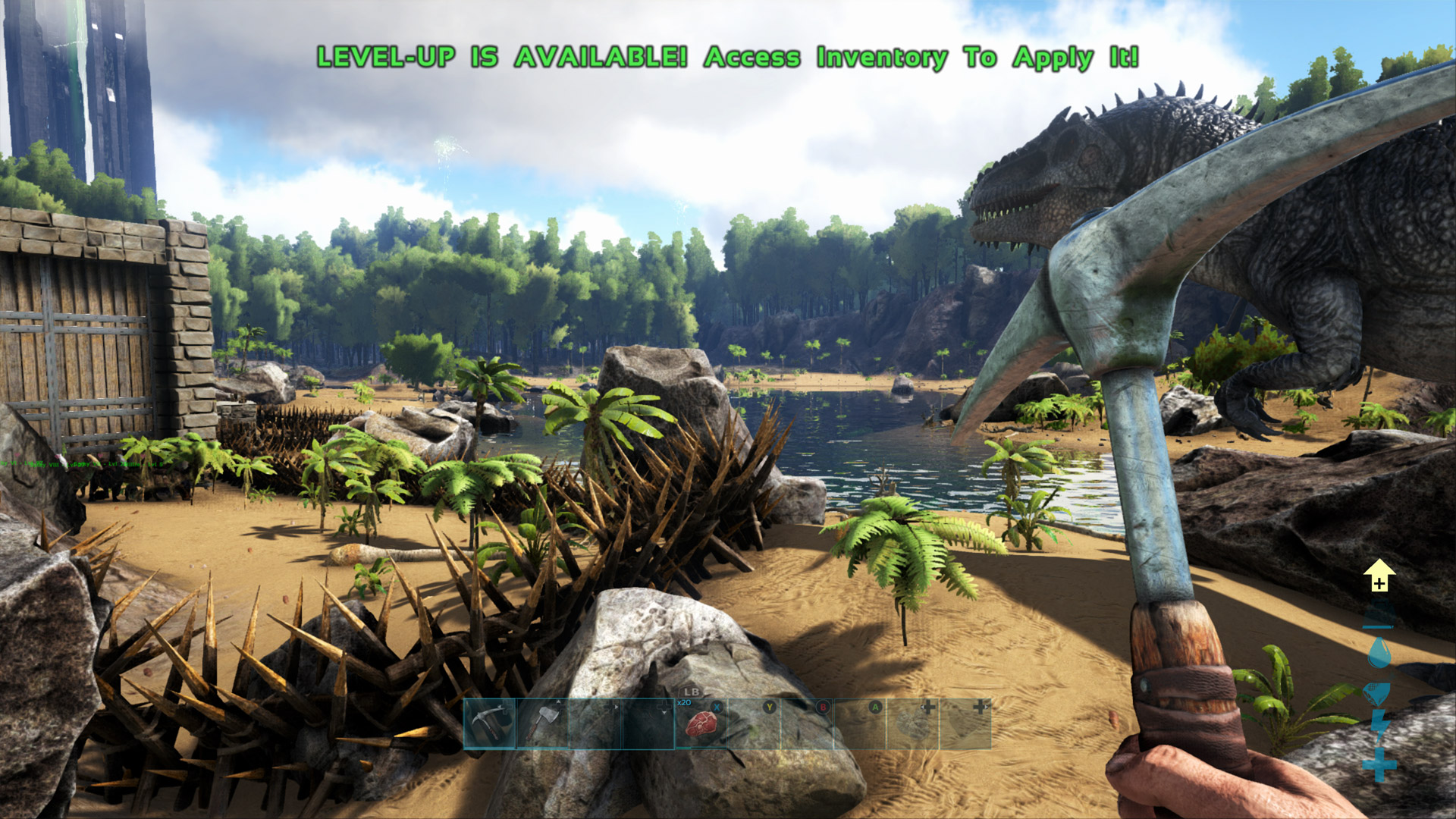 Ark: Survival Evolved Xbox One X Enhanced Impressions