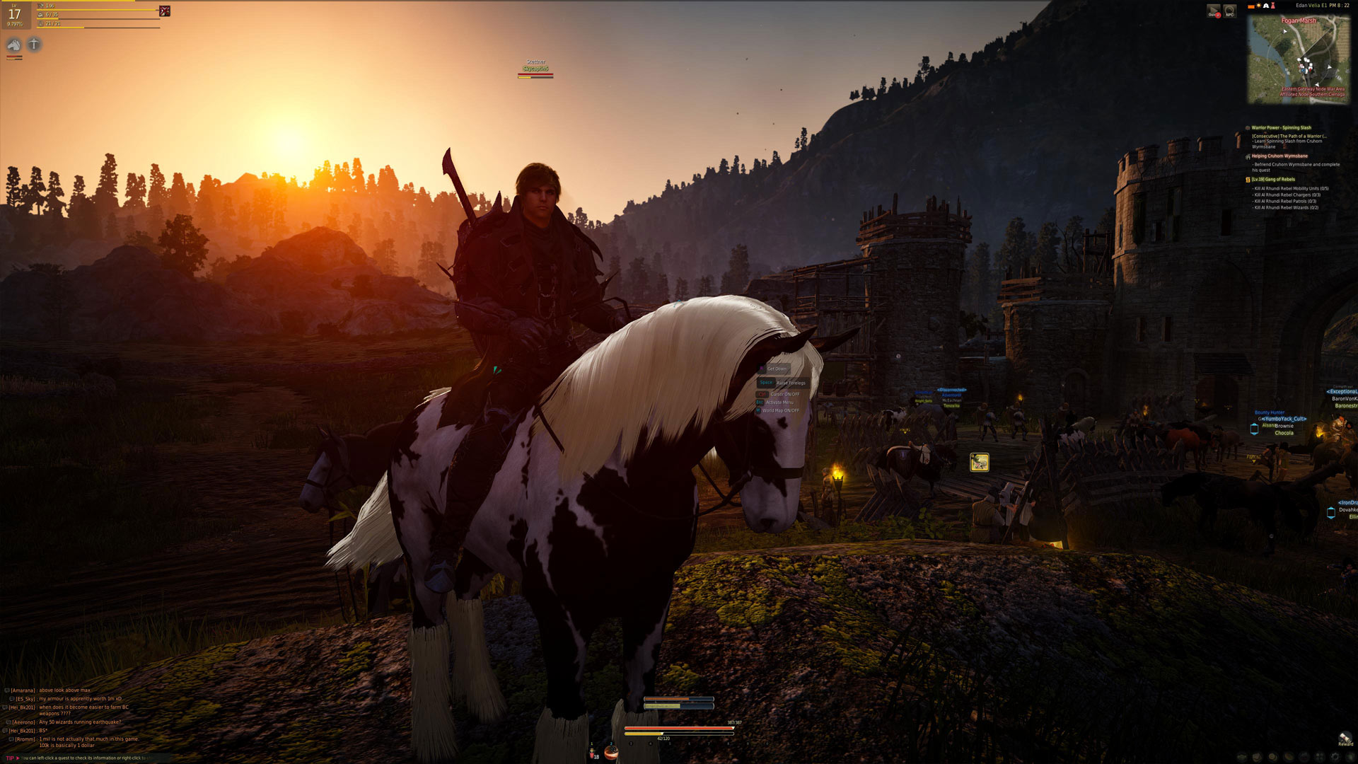 Black Desert Online Sunset