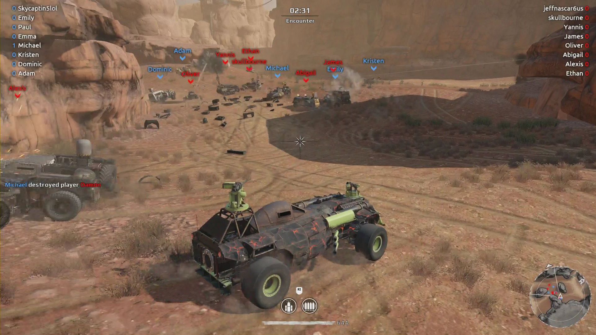Crossout Playstation 4 Screenshot