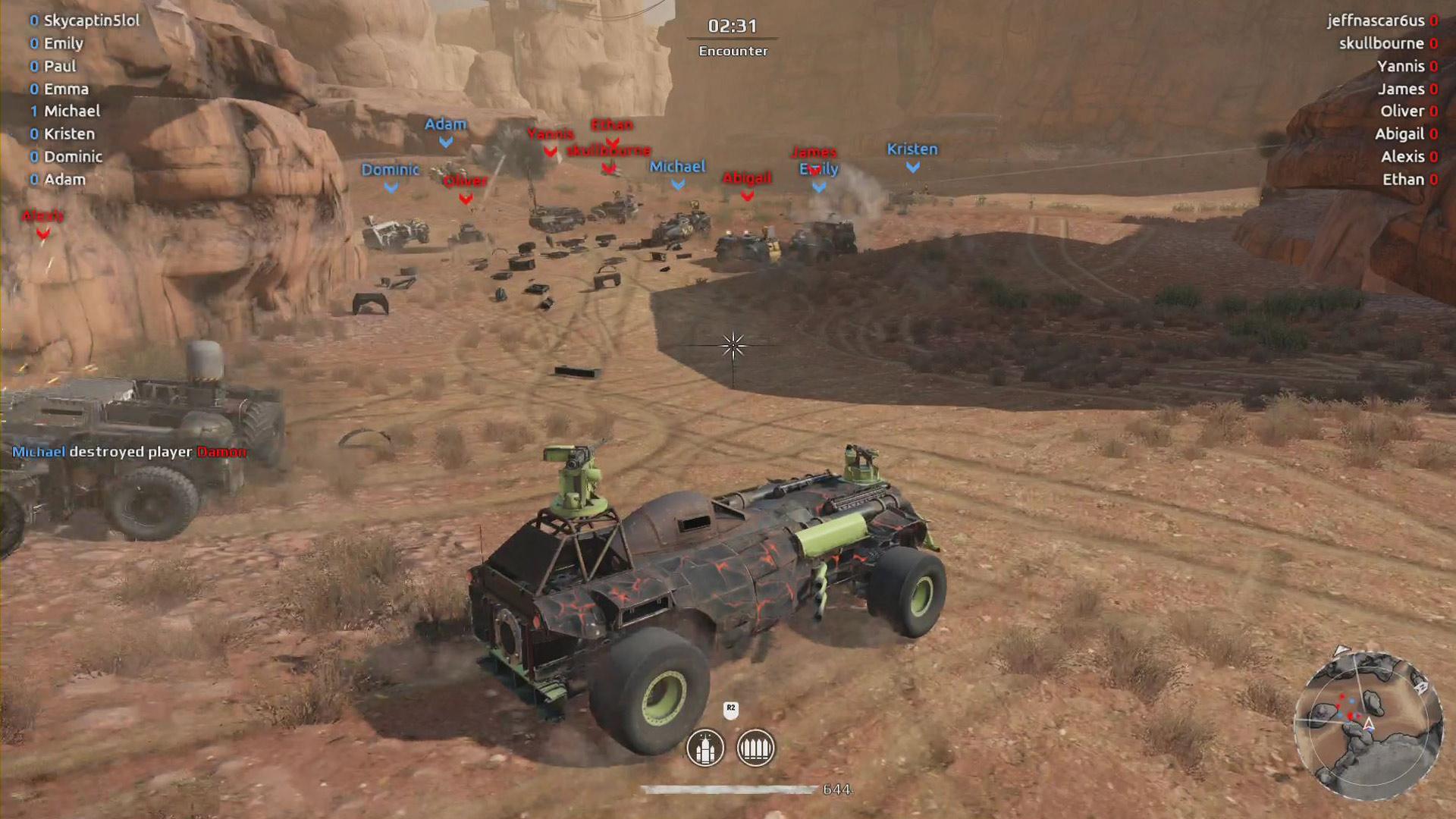 Crossout Review - Gamerheadquarters