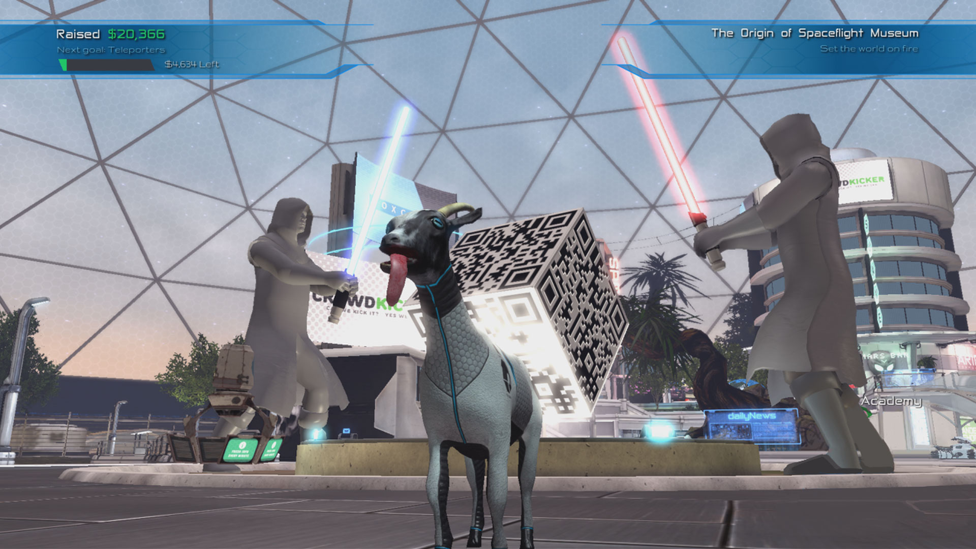Goat Simulator: Waste of Space Goat Screenshot
