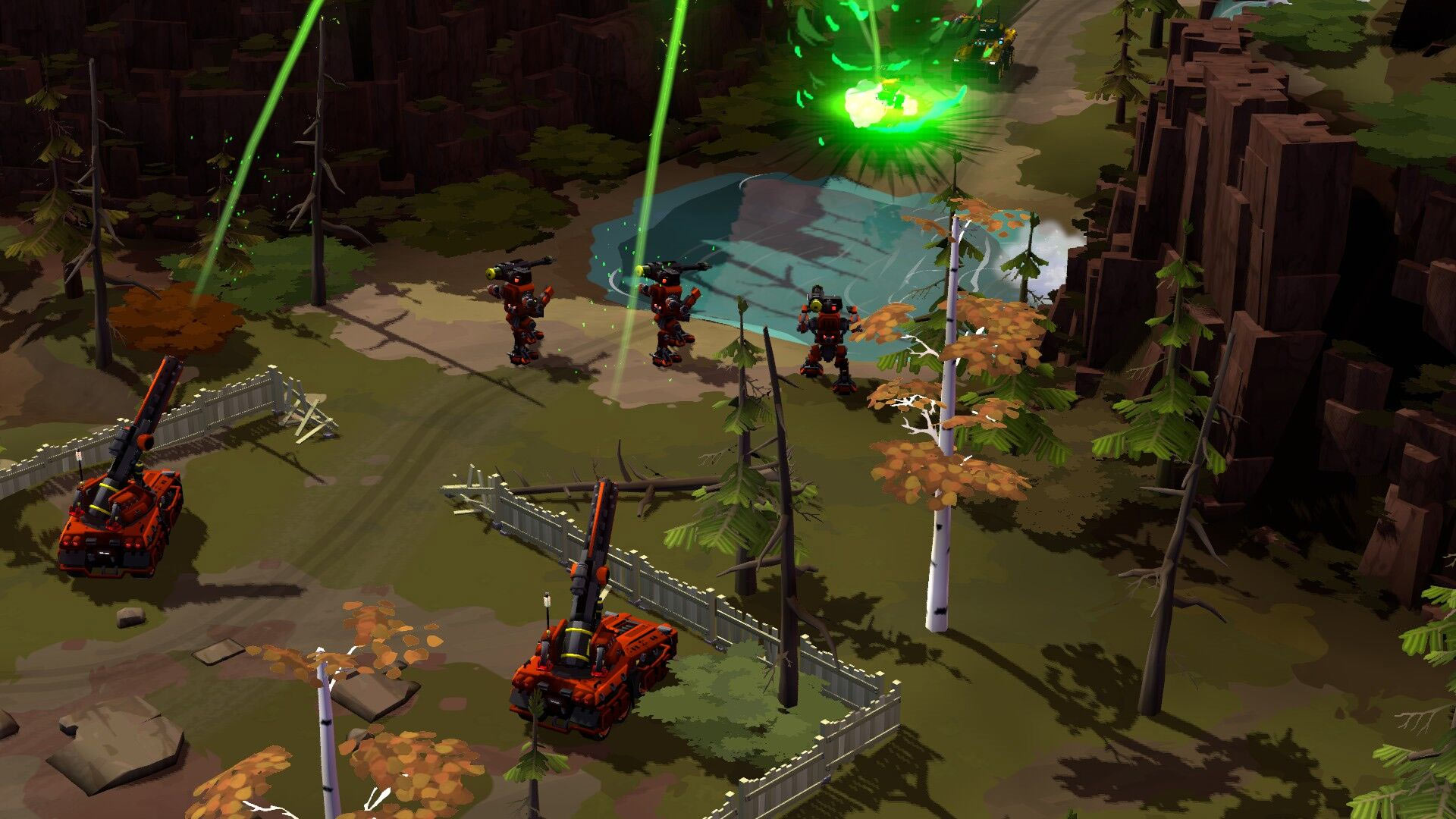 Forged Battalion RTS Screenshot