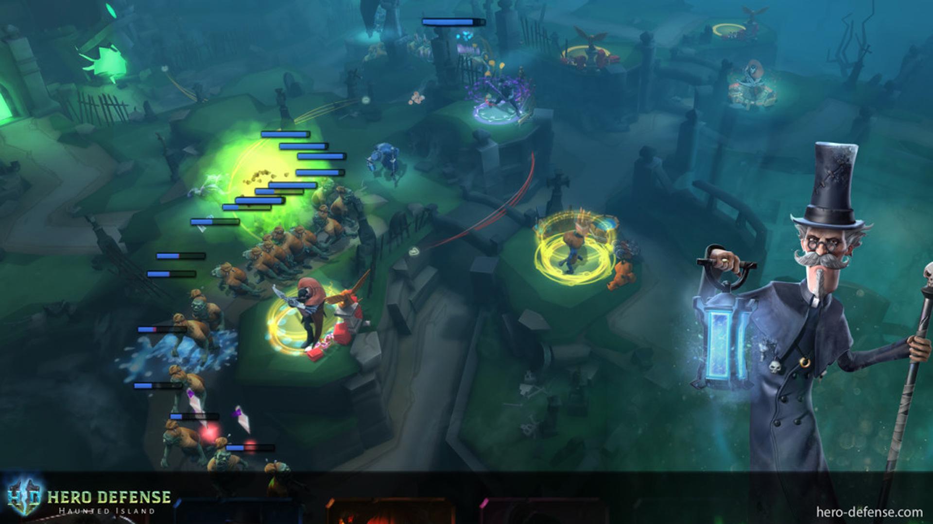 Hero Defense Screenshot