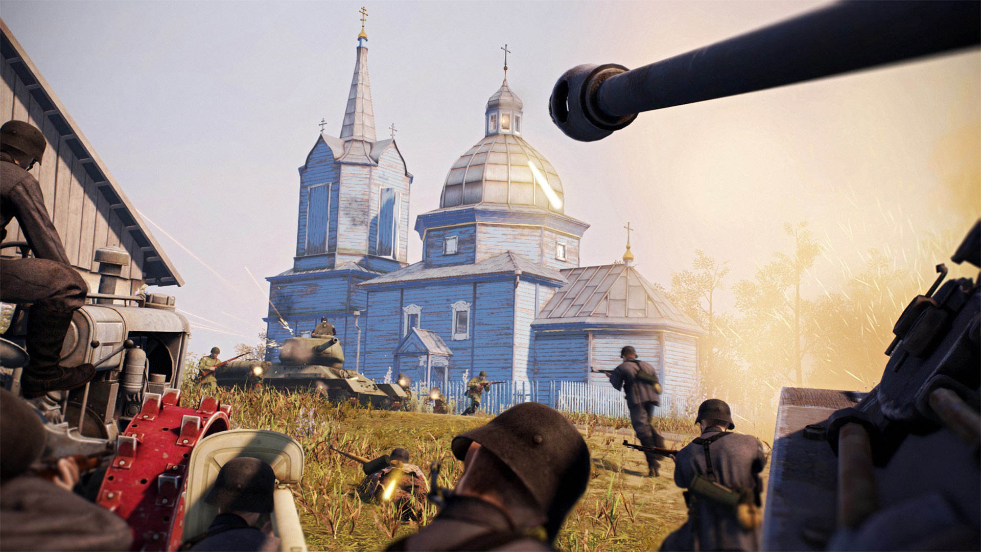Heroes and Generals Skirmish at Khutor Screenshot