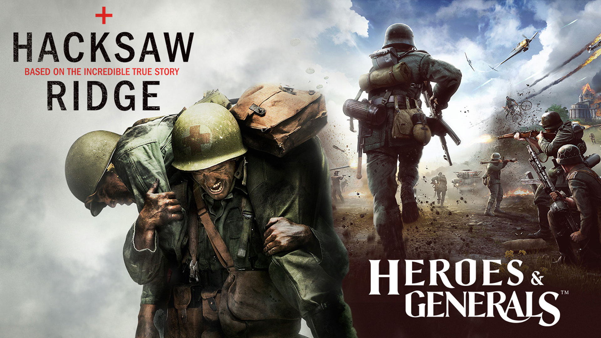 Heroes and Generals Hacksaw Ridge Promotion Interview