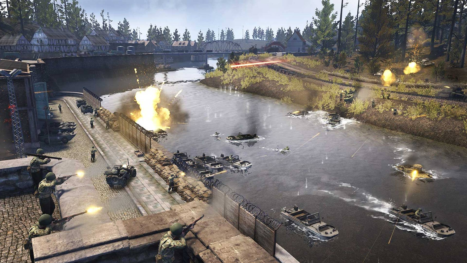 Heroes and Generals Battle Screenshot