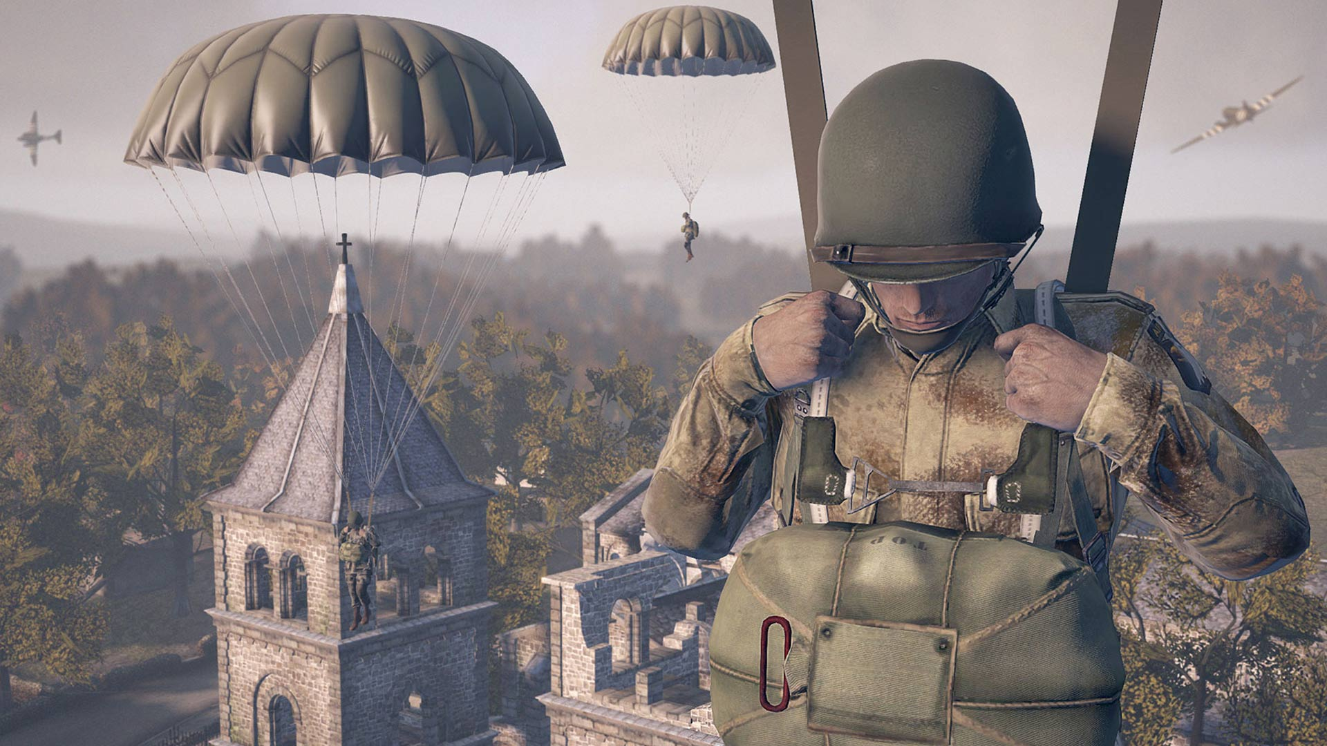 Heroes and Generals Parachute Screenshot