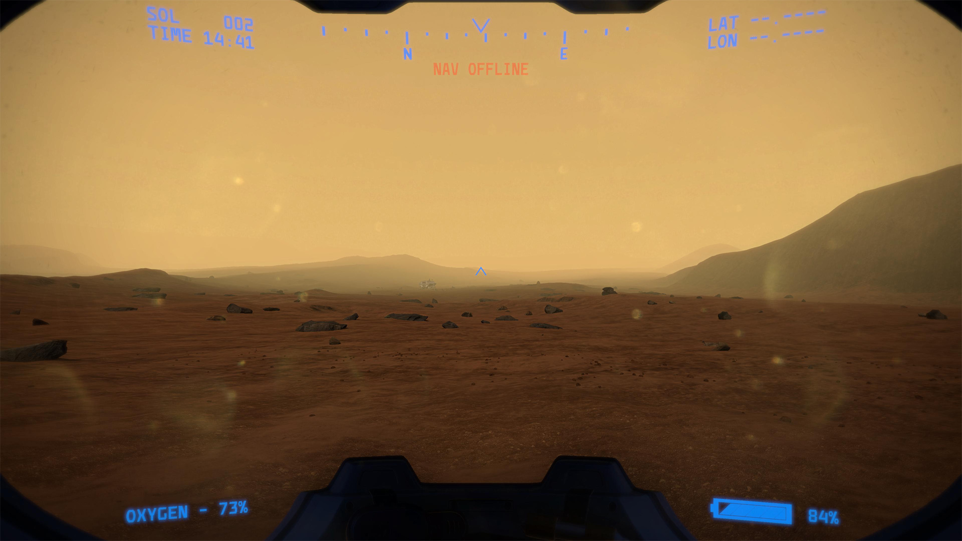 Lacuna Passage Screenshot Mars Environment and Item Scavenging