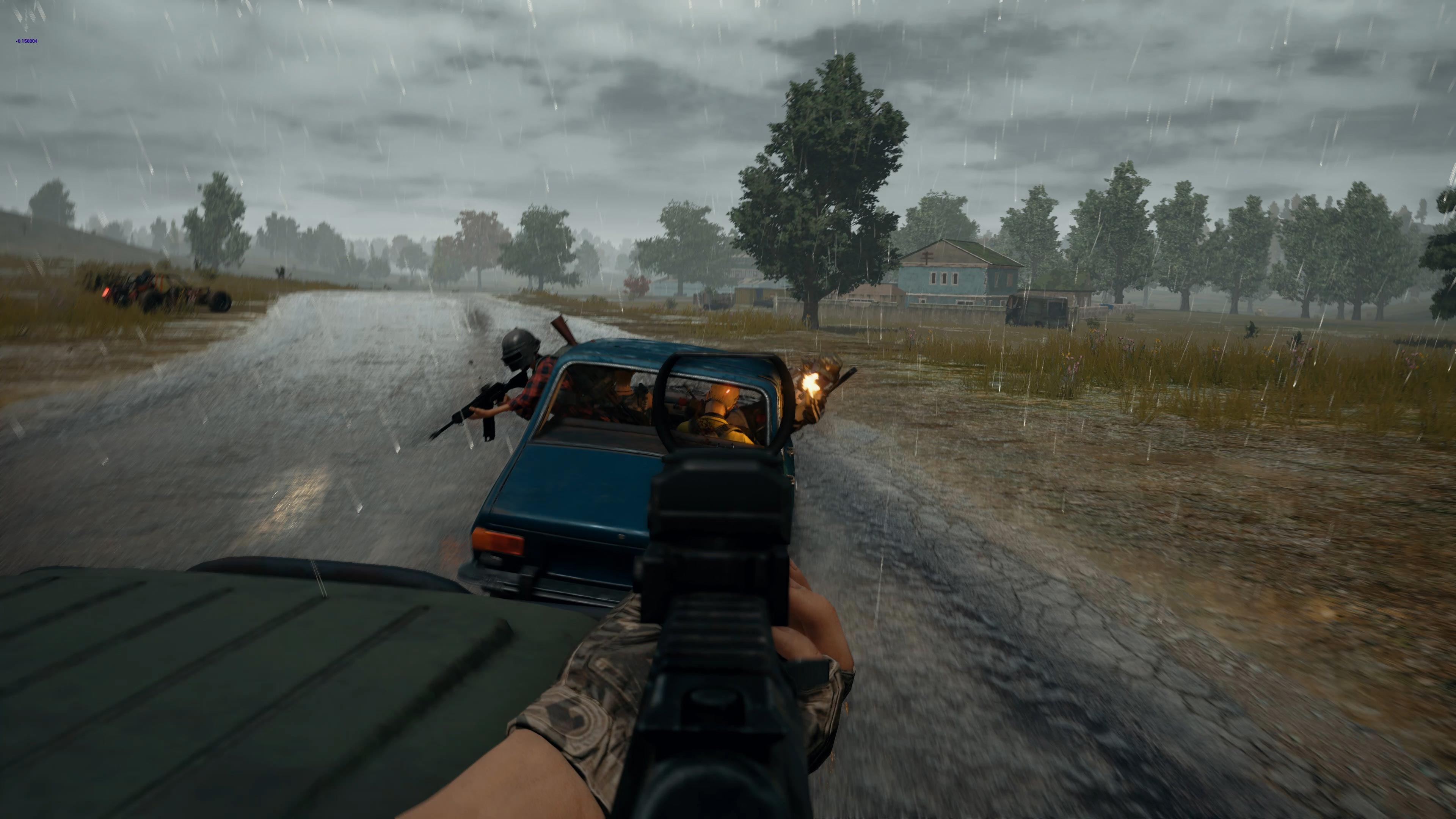 PlayerUnknown's Battlegrounds Xbox One X Screenshot