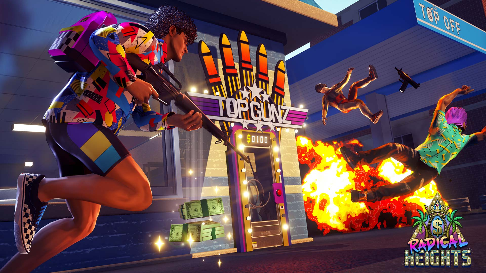 Radical Heights Screenshot