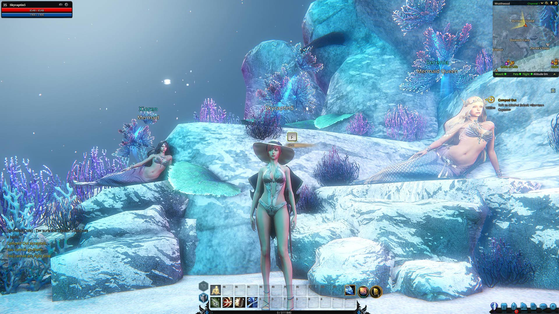 Riders of Icarus: Blight of the Frost Keep Mermaid Island Screenshot