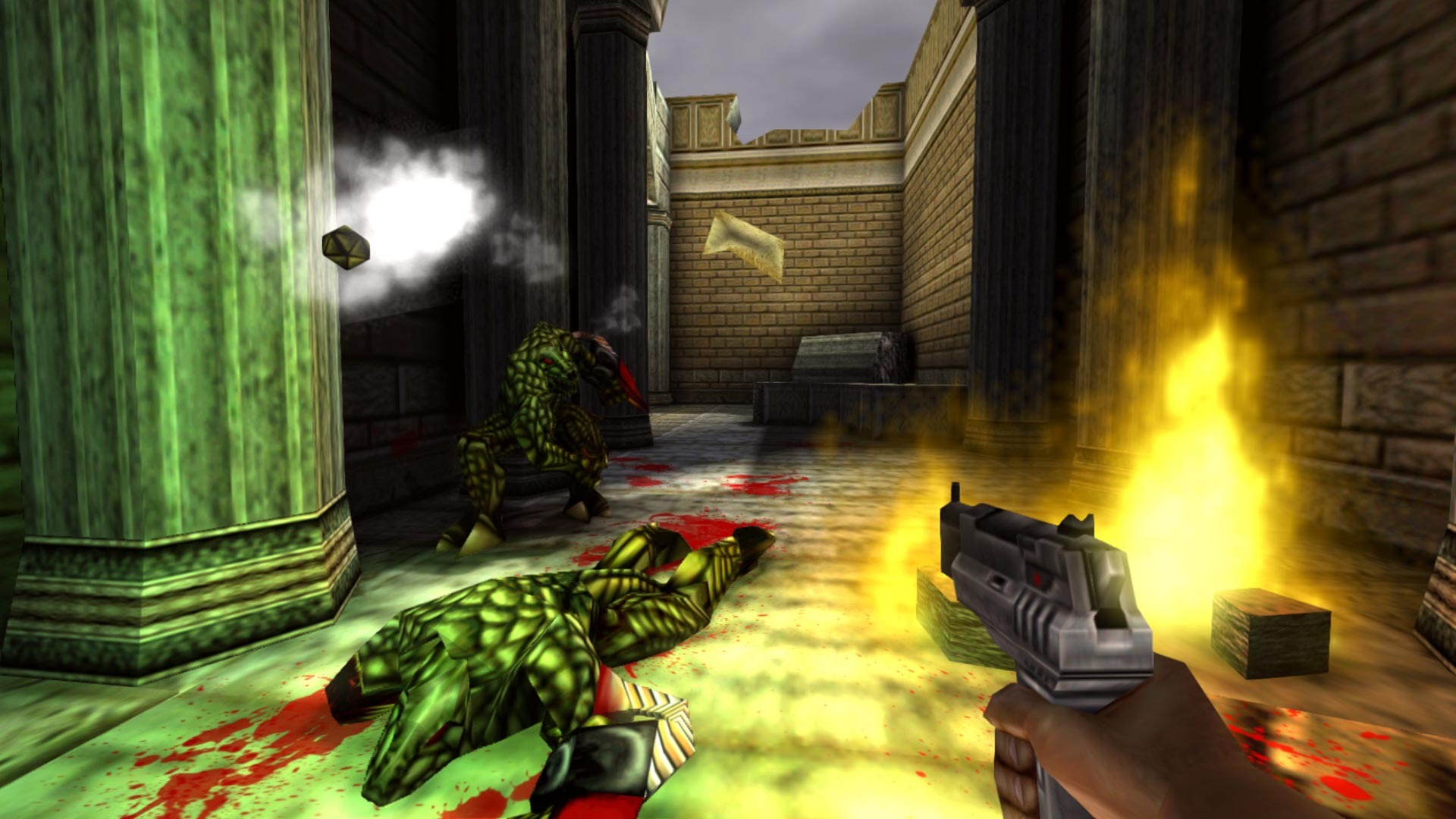 Turok 2: Seeds of Evil Xbox One Xbox Wallpaper Screenshot