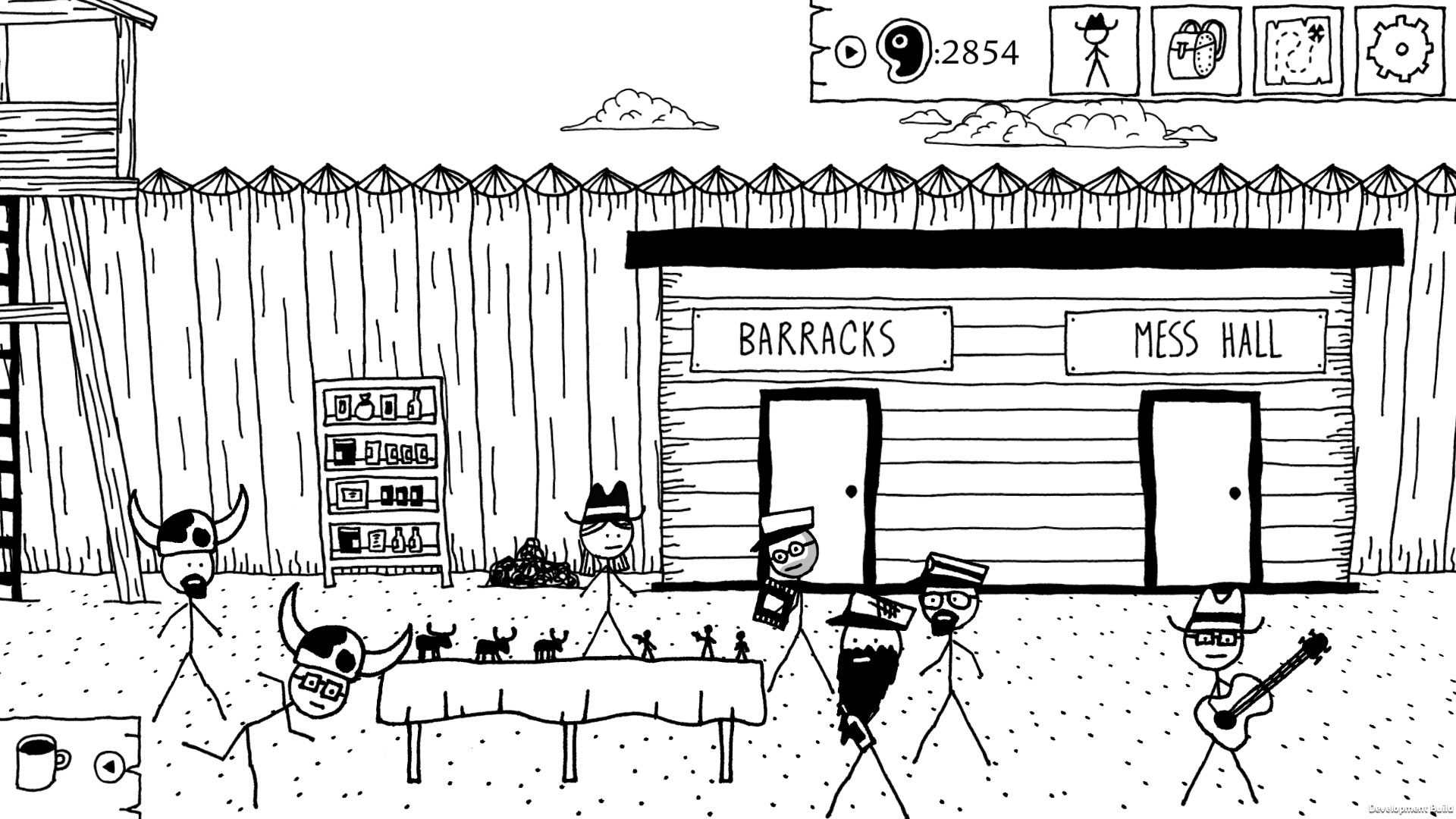 West of Loathing Screenshot Traps
