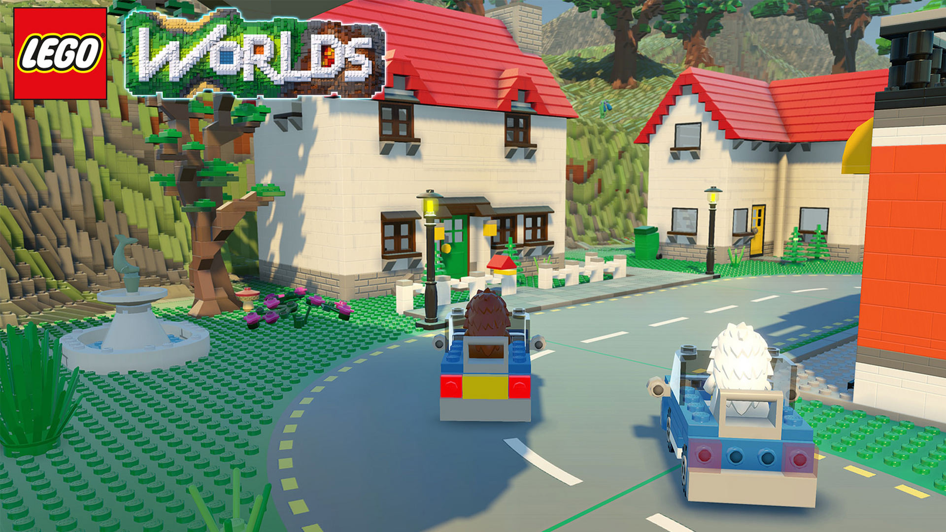 LEGO Worlds screenshot of Driving