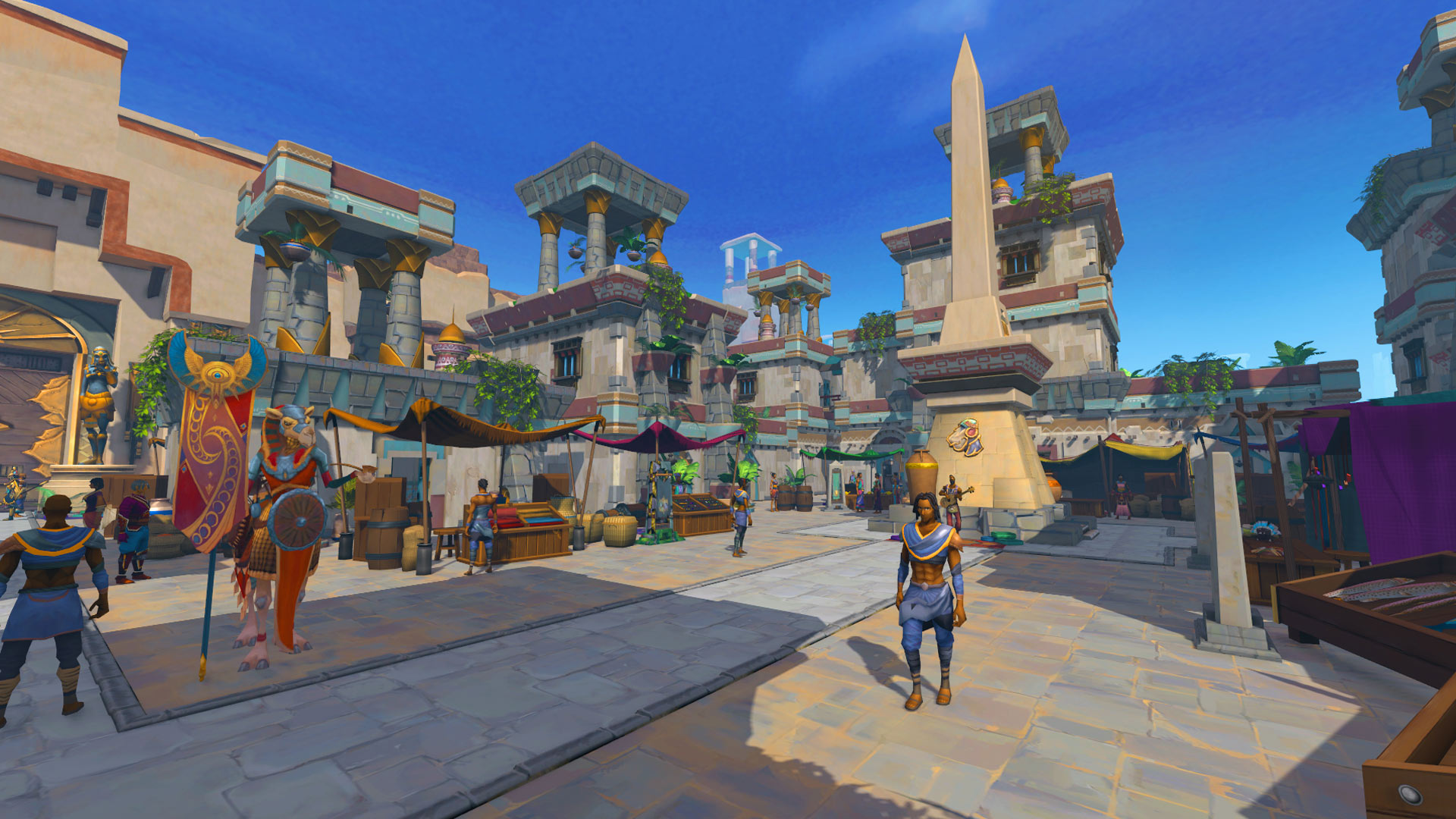 Runescape Menaphos: The Golden City