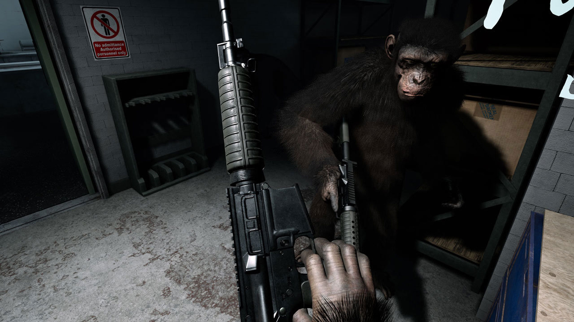 Crisis on the Planet of the Apes Playstation Screenshot