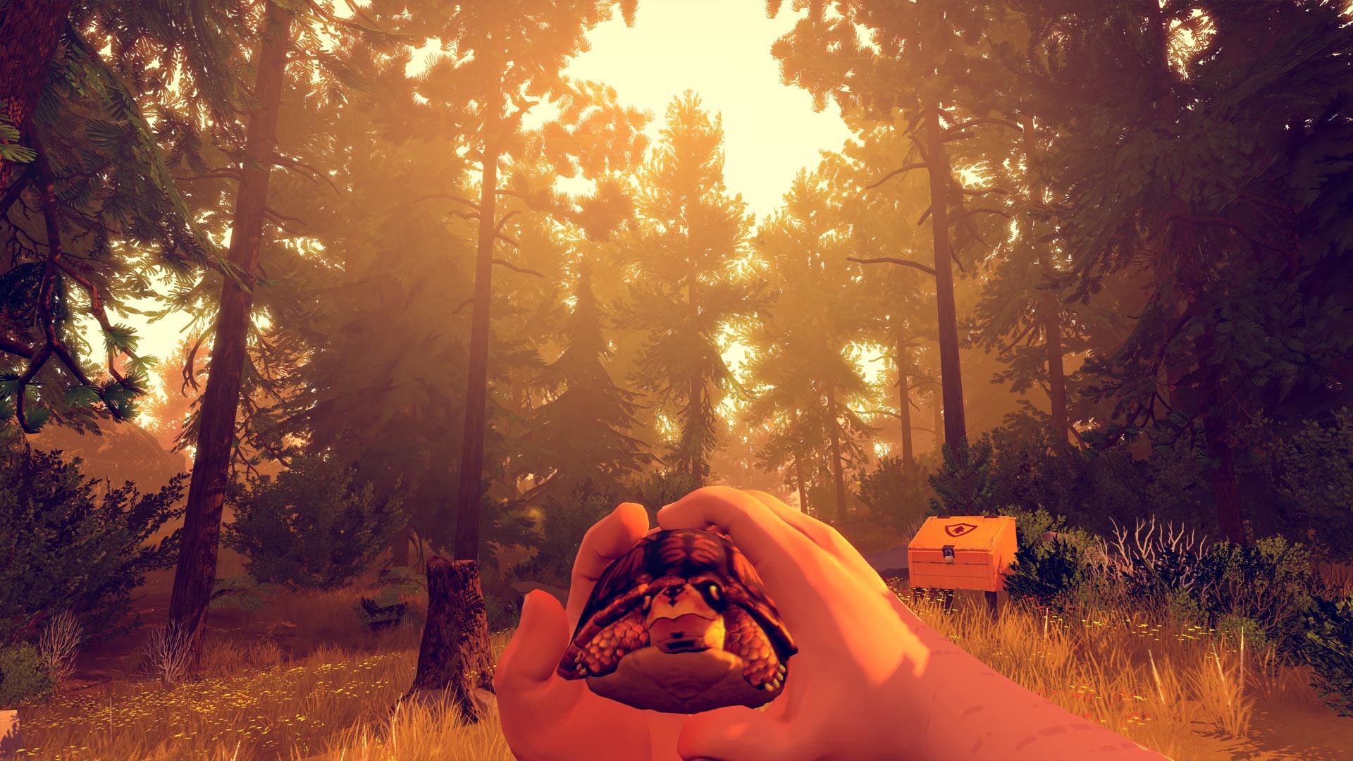 Firewatch Xbox Screenshot