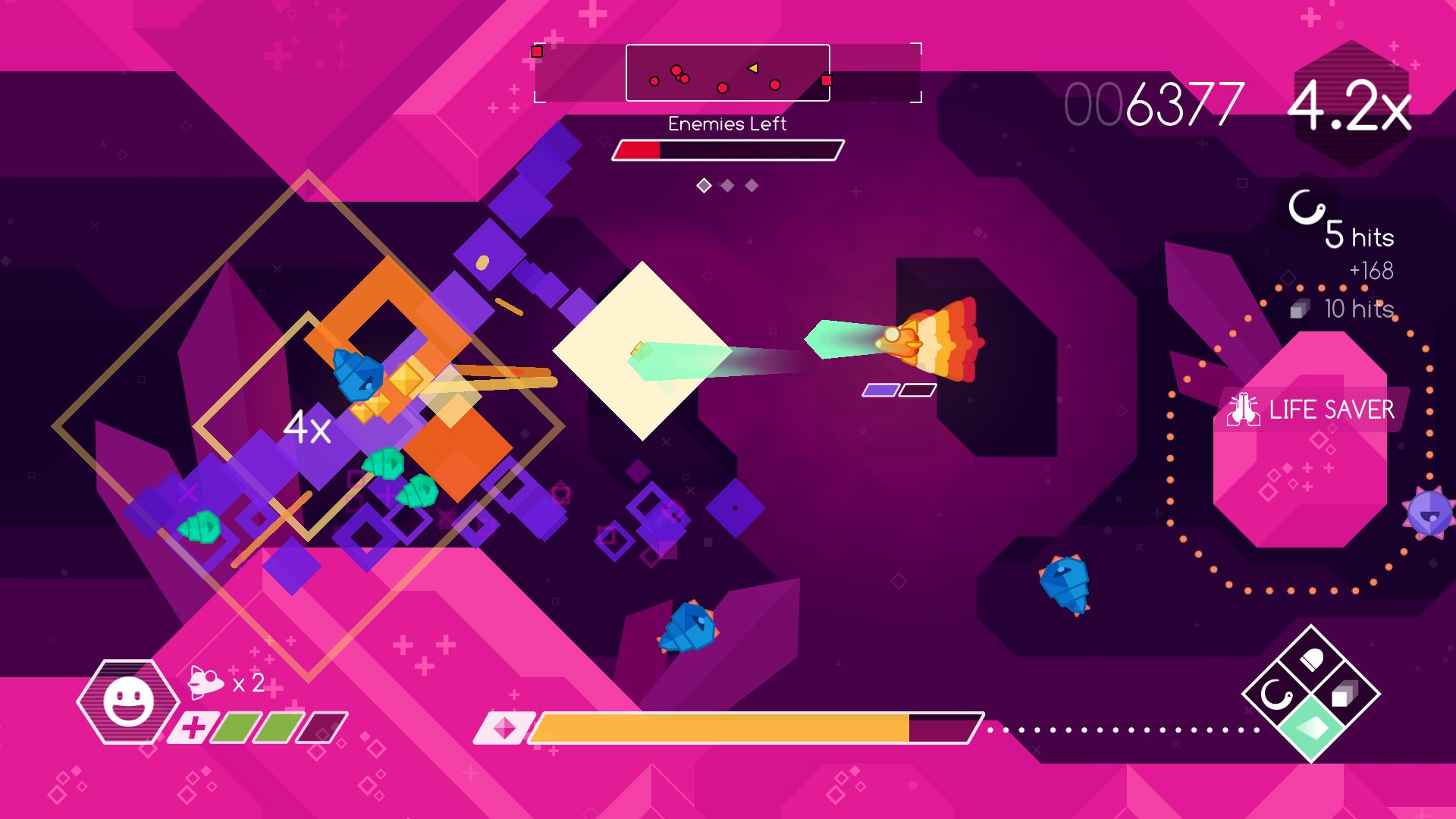 Graceful Explosion Machine Screenshot