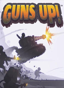 Guns Up! Playstation 4 Box Art