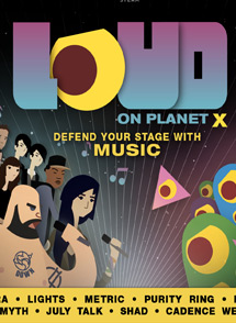 LOUD on Planet X Playstation 4 Box Art
