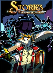 Stories: The Path of Destinies Playstation 4 Box Art