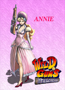 Wild Guns Reloaded Playstation 4 Box Art