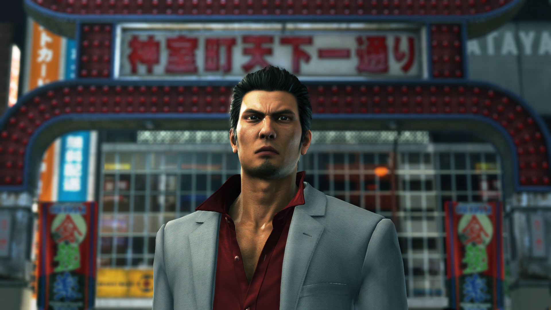 Yakuza 6: The Song of Life character
