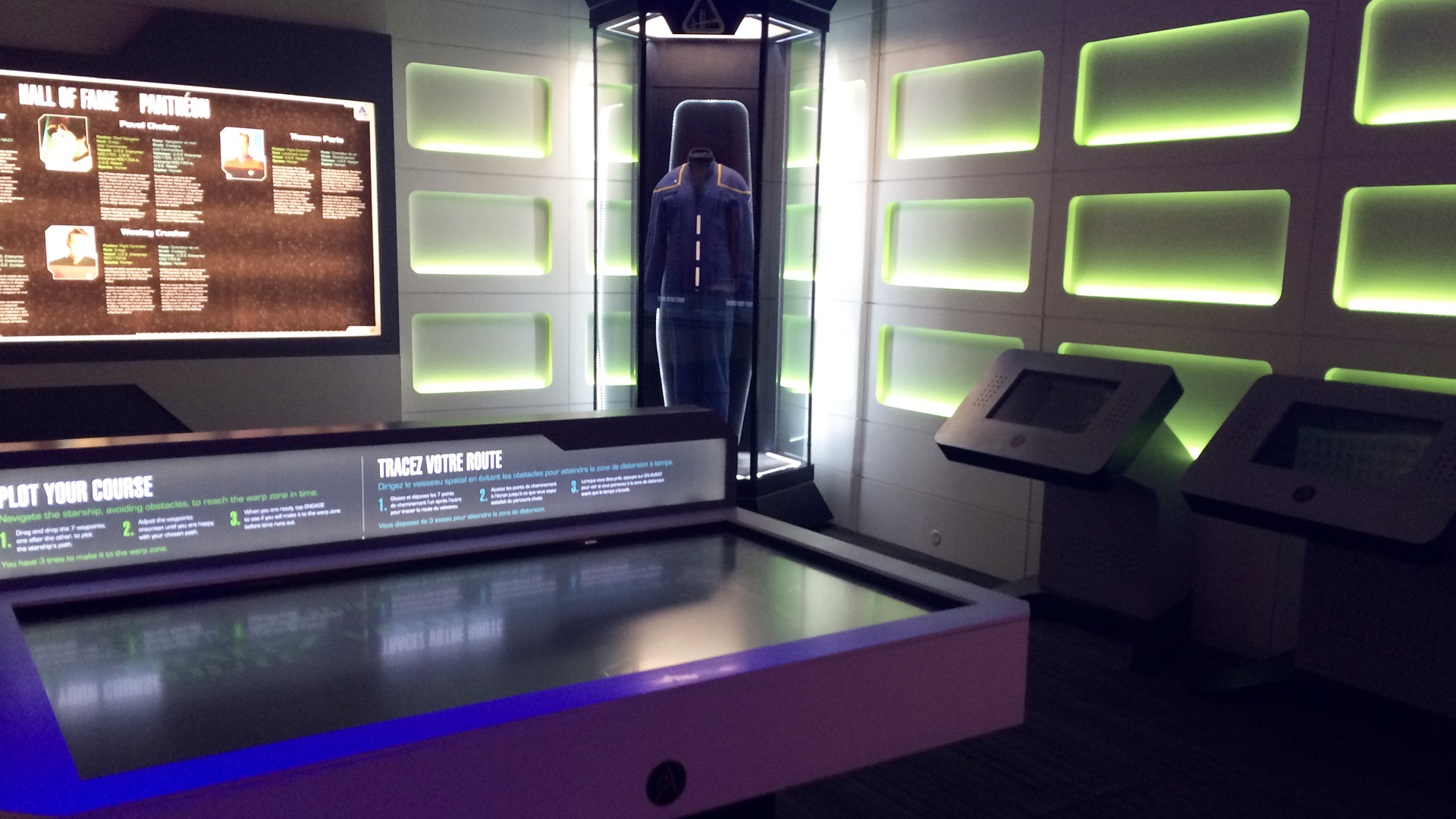 Telus Spark: Star Trek the Starfleet Academy Experience Tactical