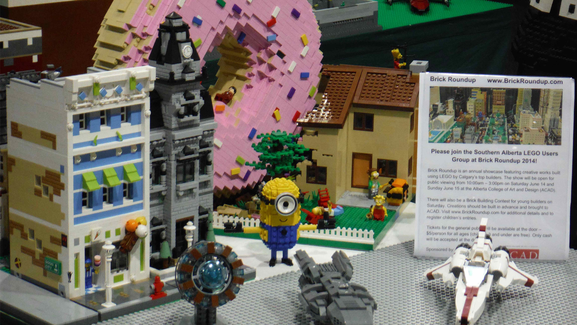 Calgary Comic Expo LEGO Display