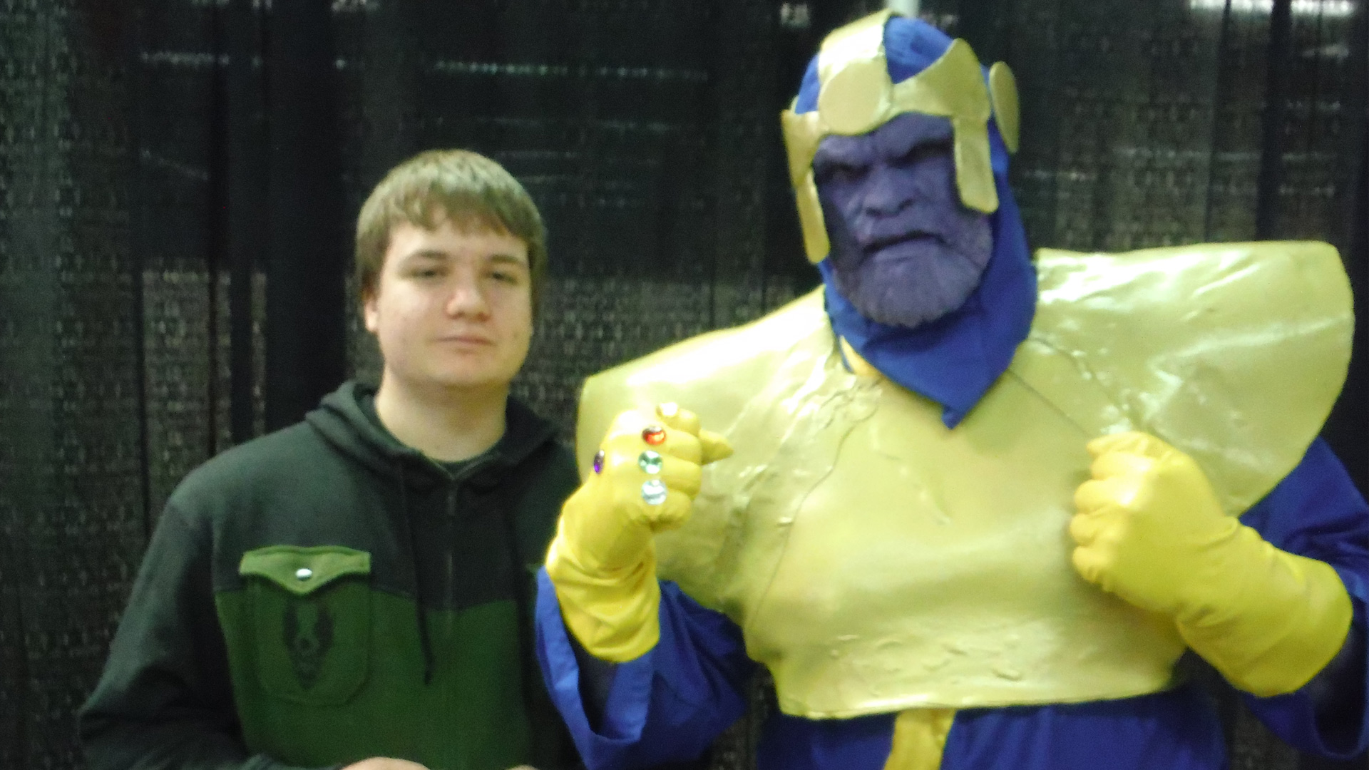 Calgary Comic Expo Thanos Cosplay