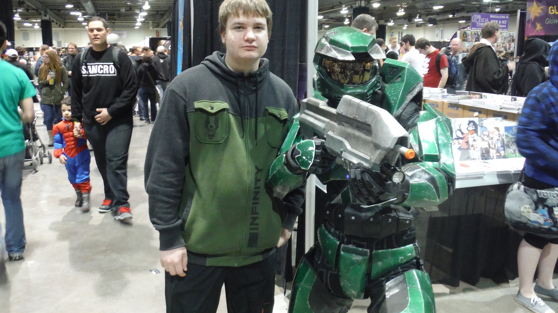 Calgary Comic Expo Master Chief Combat Evolved Cosplay