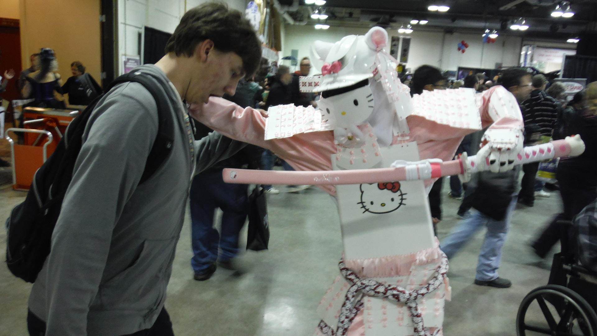 Calgary Comic Expo Samurai Hello Kitty Cosplay