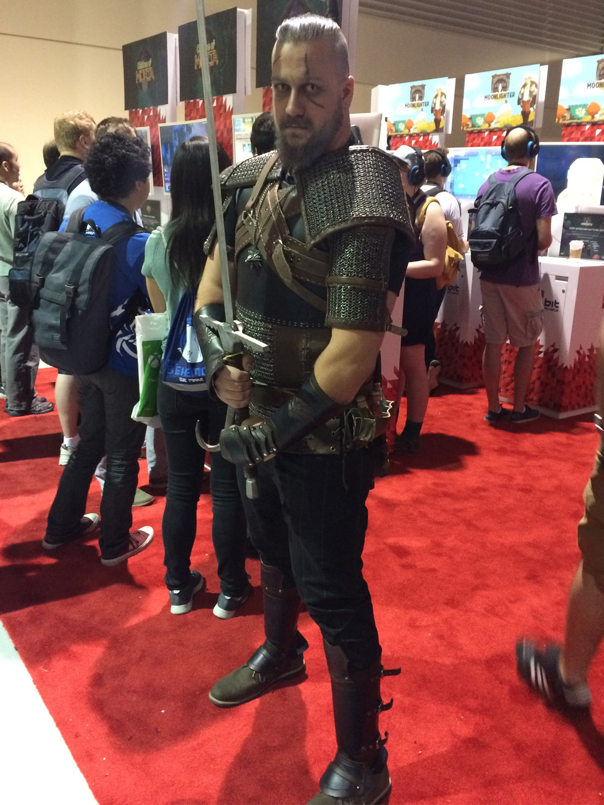 Pax West 2017 Cosplay Day 1 Geralt