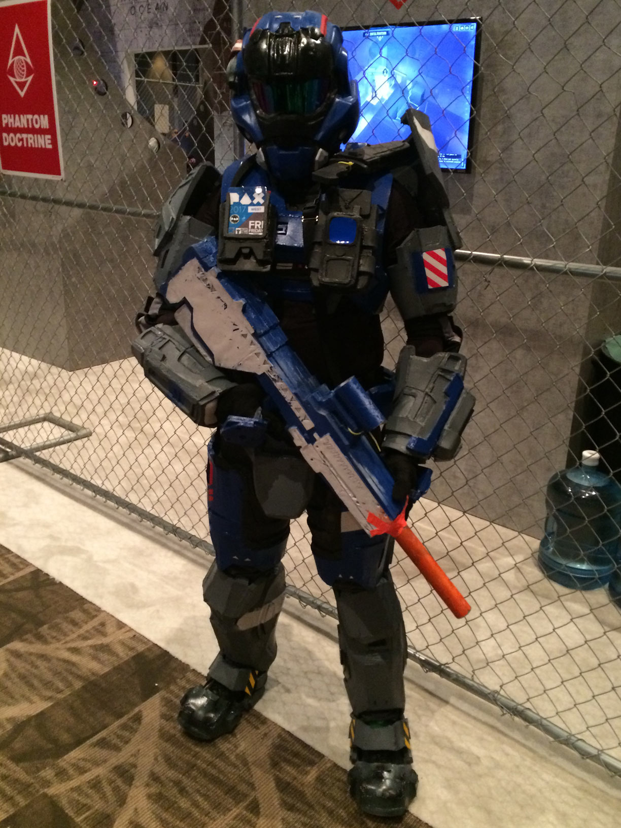 Pax West 2017 Cosplay Day 1 Spartan