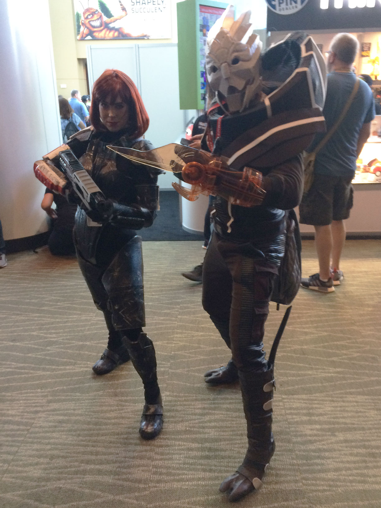 Pax West 2017 Cosplay Day 2 Mass Effect