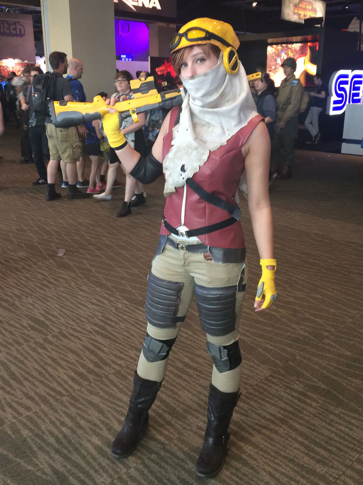 Pax West 2017 Cosplay Day 2 Joule ReCore