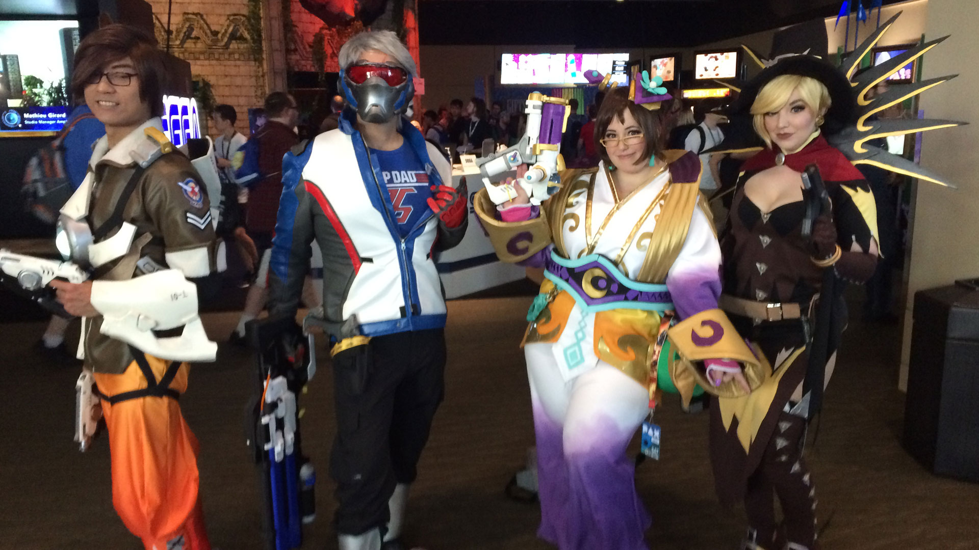 Pax West 2017 Cosplay Day 2 Overwatch