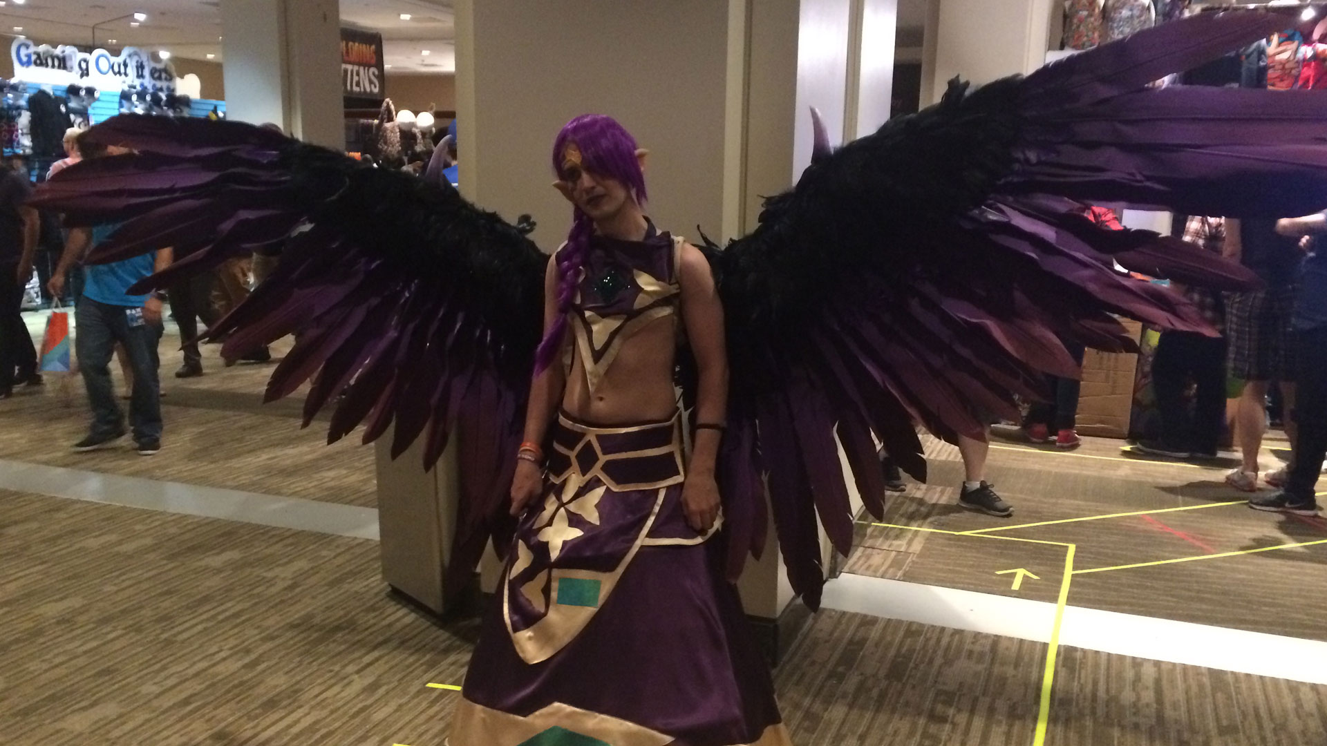 Pax West 2017 Cosplay Day 2 wings of glory