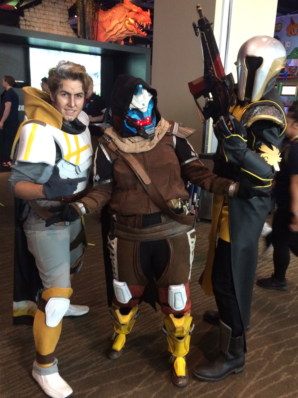 Pax West 2017 Cosplay Day 3 Destiny