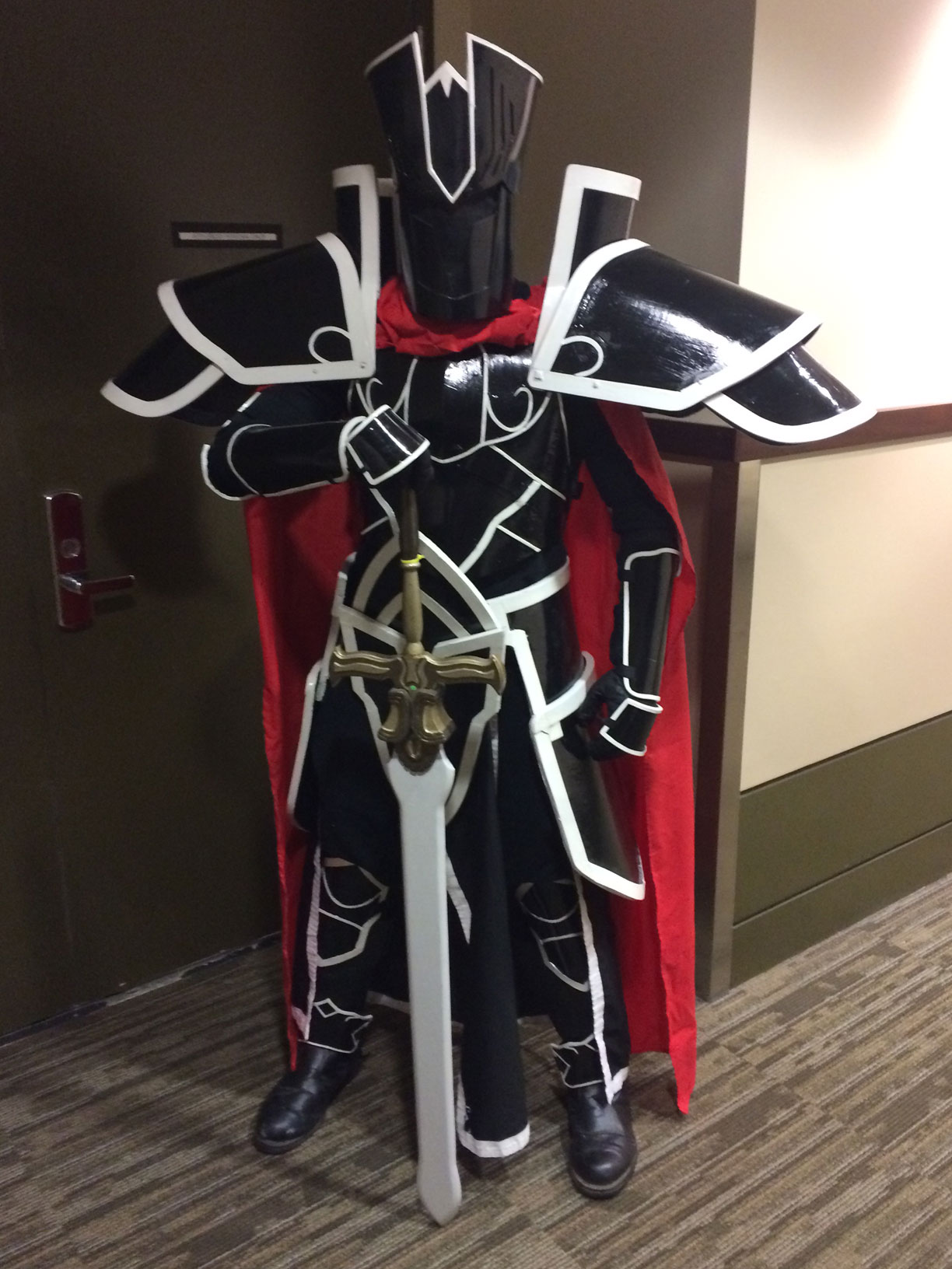 Pax West 2017 Cosplay Day 3 knight