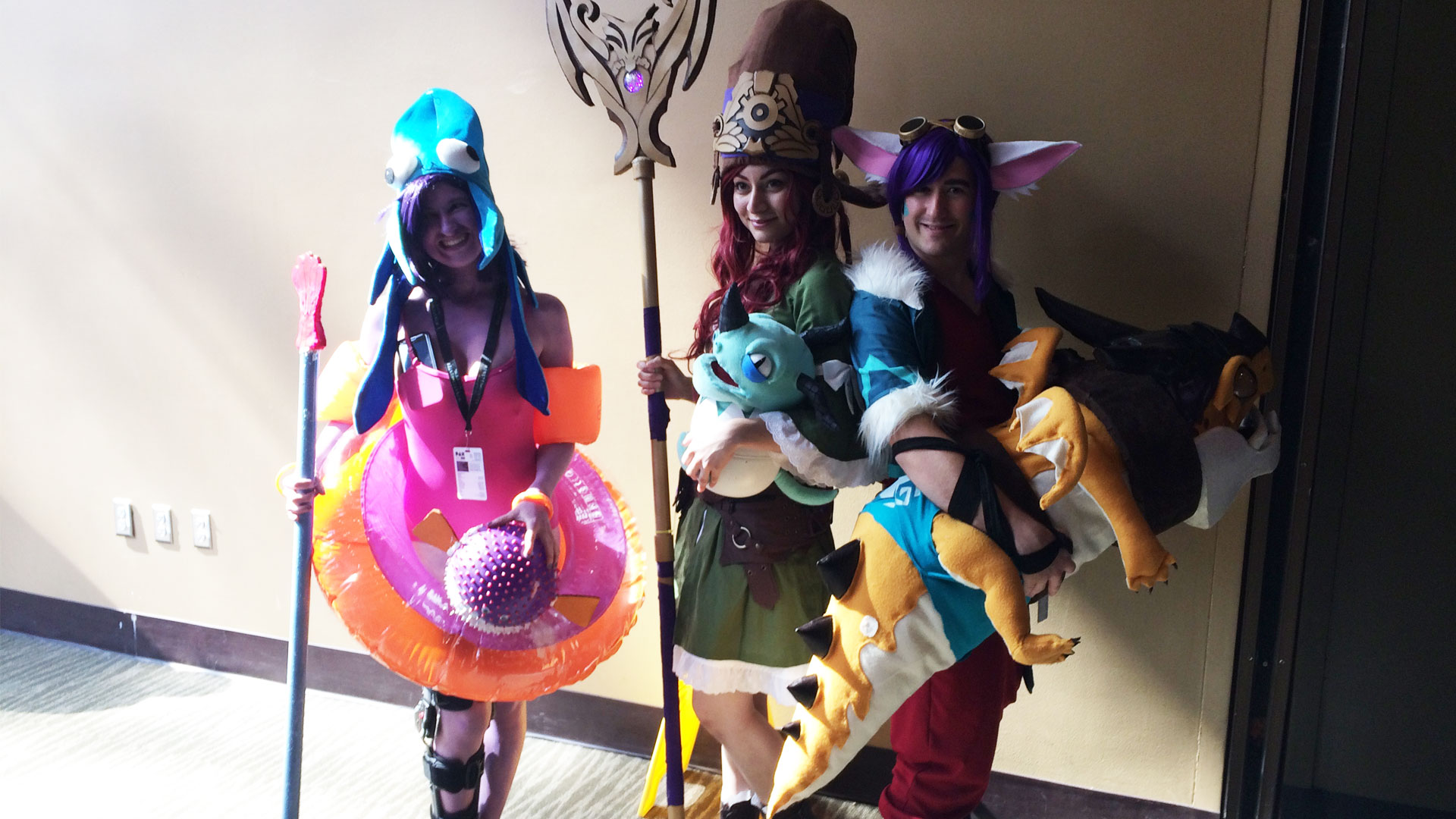 Pax West 2017 Cosplay Day 3 trio